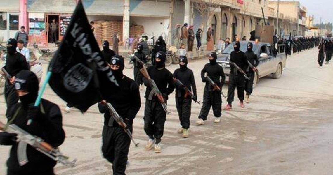 ISIL fighters/Aljazeera.