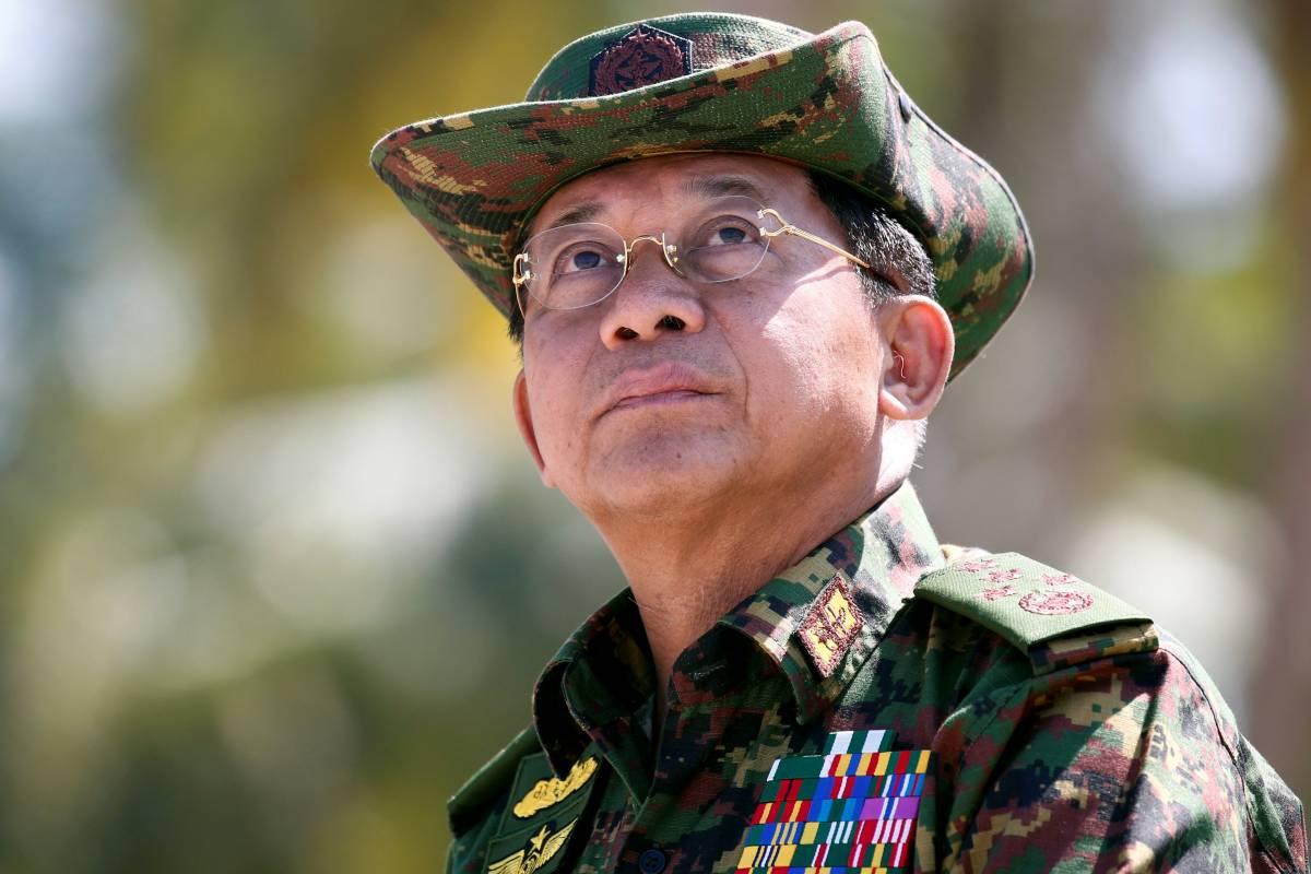 General Min Aung Hlaing [Reuters]