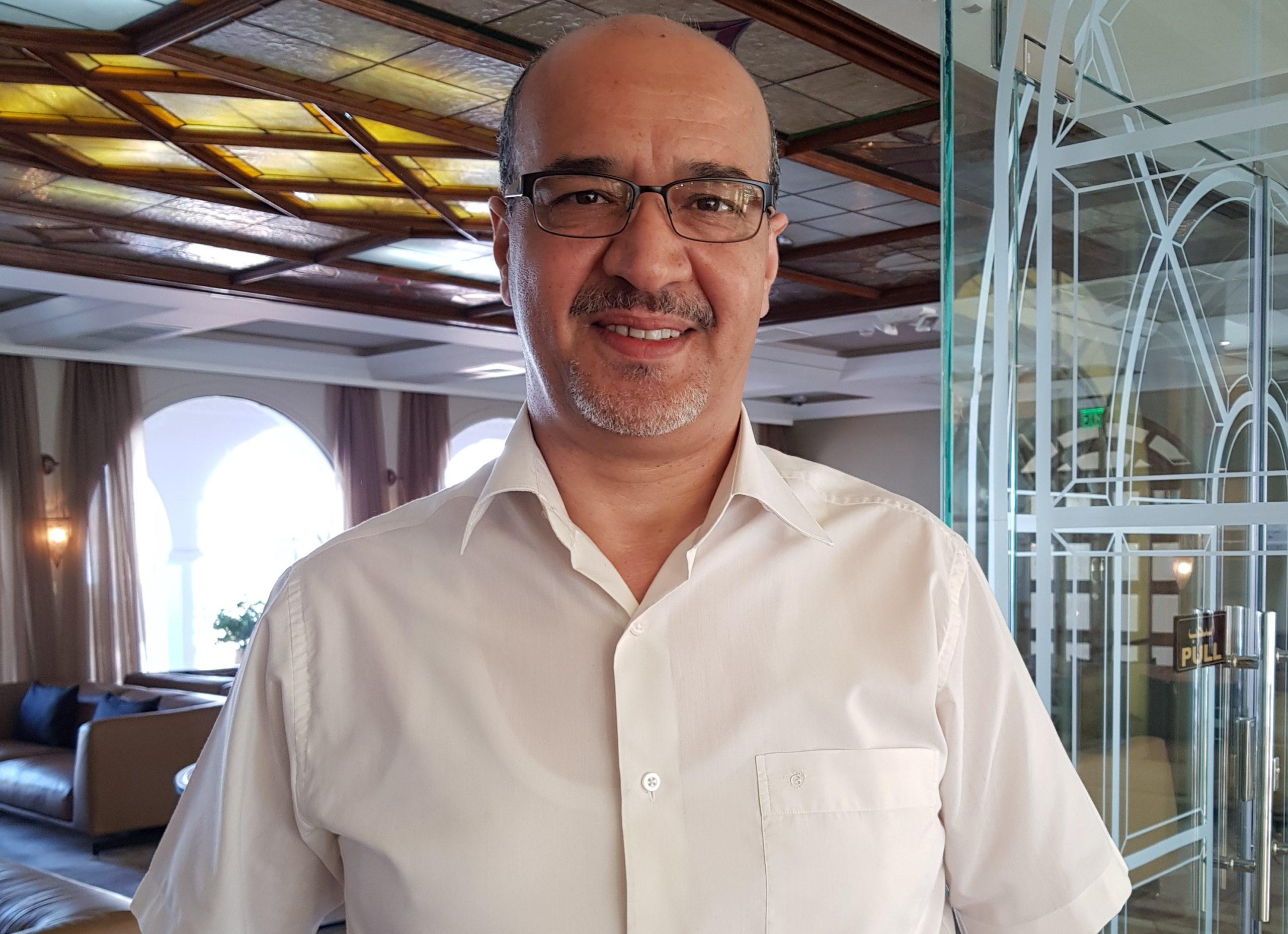 الدكتور كريم الماجري، الباحث الأول بمركز الجزيرة للحريات العامة وحقوق الانسان-(الجزيرة)