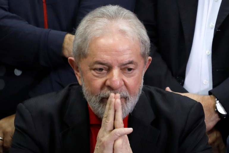 Lula, who served as president from 2003 to 2010 has already announced his plans to run for President again next year/Aljazeera.