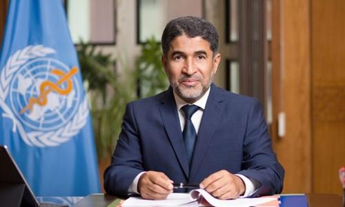 Dr. Ahmed Al-Mandhari, WHO RegionalDirectorfor the Eastern Mediterranean.