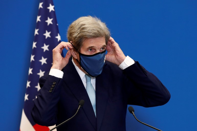 Kerry is the first Biden Administration official to date to visit China/Aljazeera.