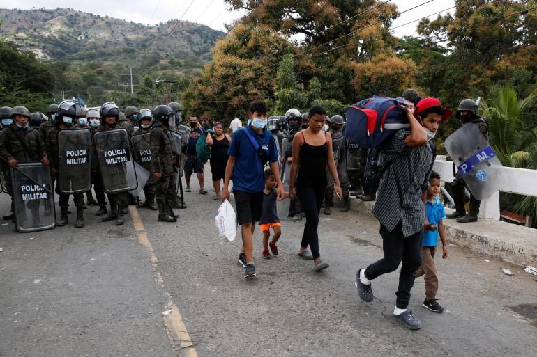 Diplomatic efforts to slow migration to the U.S/Mexican border/Aljazeera.