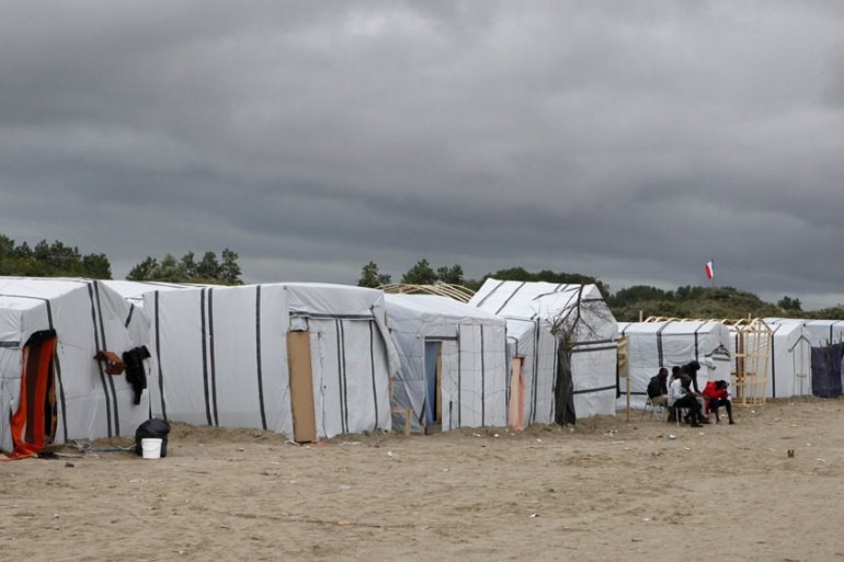 France's ramshackle refugee camps is a rallying point for the UK government and the far-right/Aljazeera.
