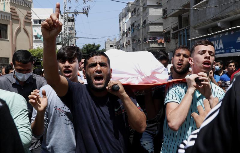 Gaza, 11 May 2021 [AP]