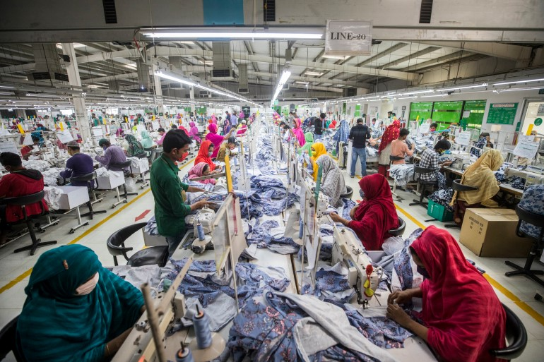 Workers hired by subcontractors to work for large fashion brands/Aljazeera.