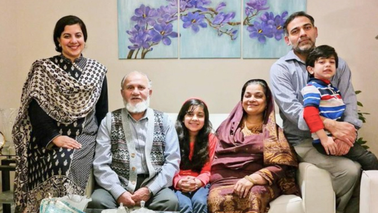 العائلة المسلمة التي قتل أربعة من أفردها في كندا (نشطاء)