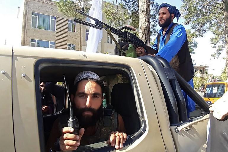 Taliban fighters/Aljazeera.
