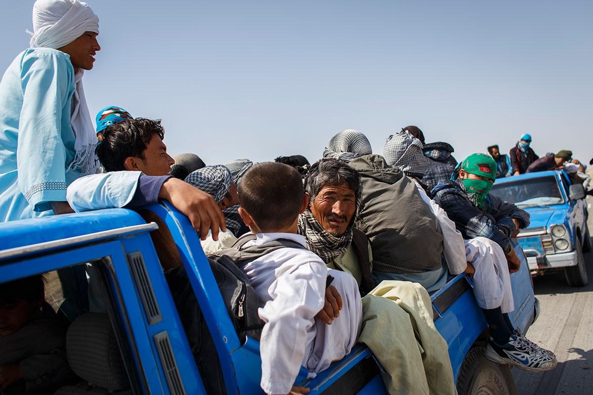 Afghan refugees/Aljazeera.