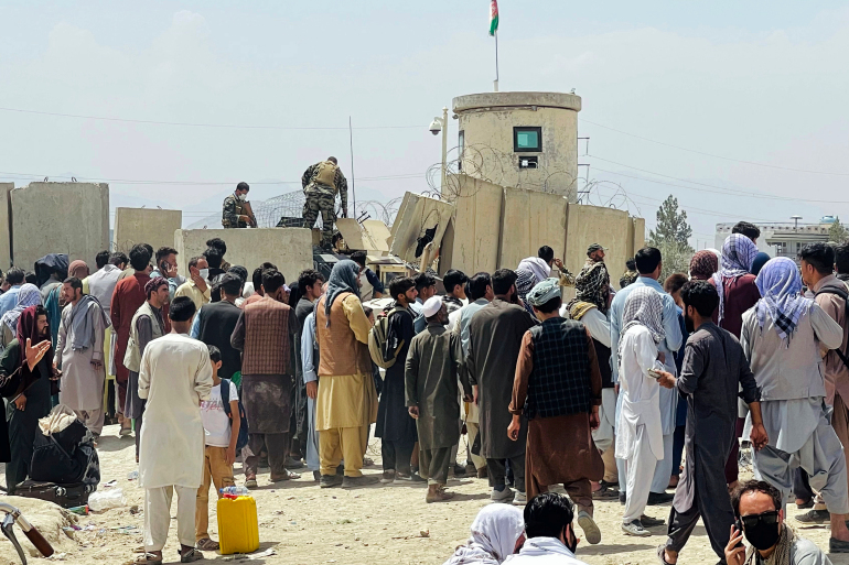 More than 70,000 people, including Afghans at risk, have been evacuated/Aljazeera.