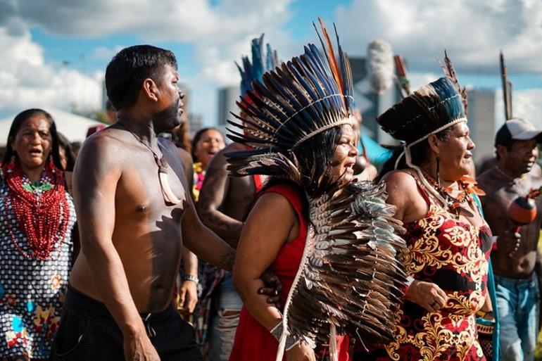 Brazil: Native groups/Aljazeera.