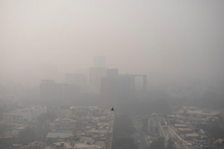 New Delhi suffers the most toxic air in a year/Aljazeera.