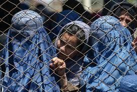 Afghan women in Kabul, April 2021 [Reuters]