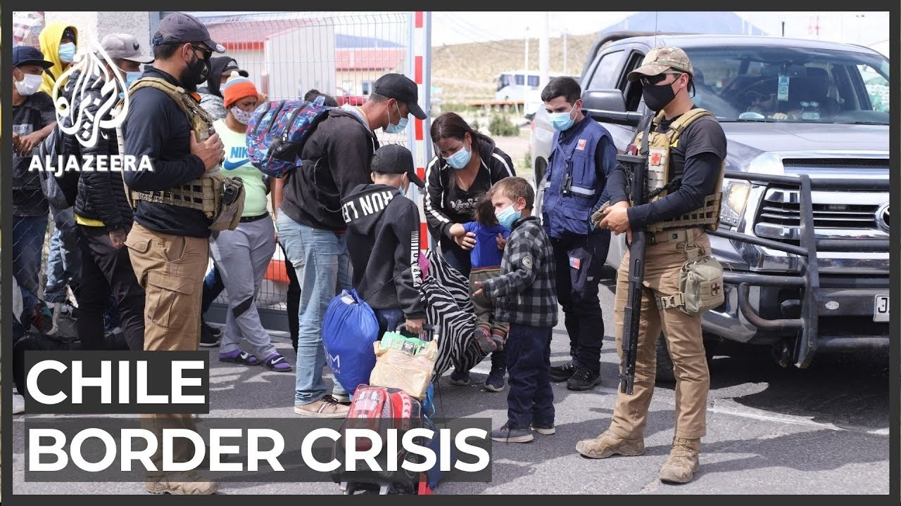 Chile border crisis/Aljazeera.