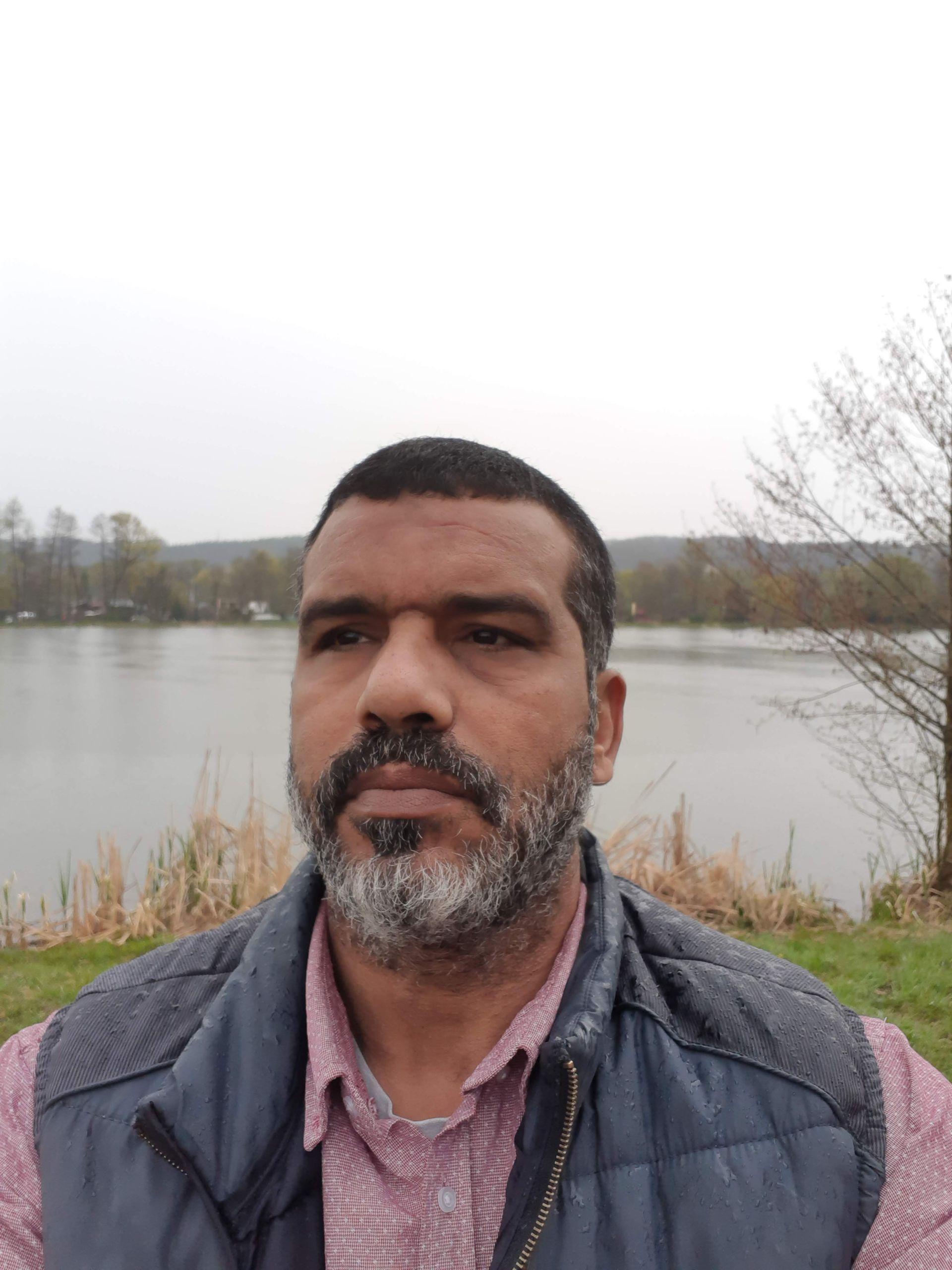 Hisham Sliti in Slovakia [Courtesy of Hisham Sliti]