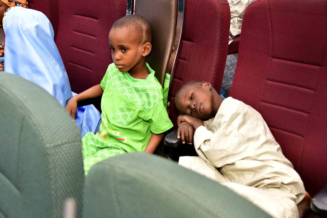 Kidnapped Nigerian students/Reuters.