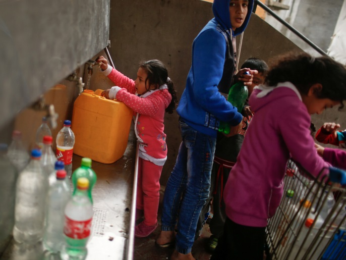 المعهد العالمي للمياه والبيئة والصحة: نحو ربع الأمراض المنتشرة في غزة ناتجة عن تلوث المياه (رويترز)